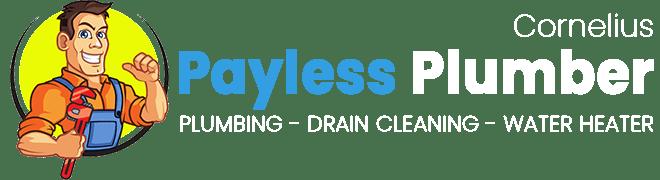payless plumber cornelius nc logo